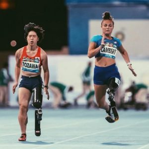 Noelle Lambert shines at World Para Athletics Championships