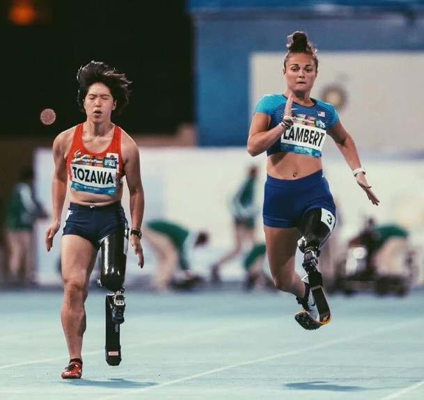 Noelle Lambert shines at World Para Athletics Championships