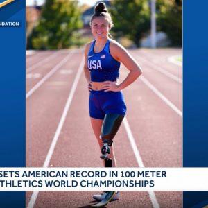 Londonderry woman sets record at World Para Athletics Championships