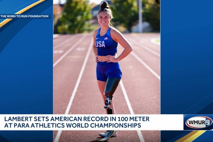 Londonderry woman sets record at World Para Athletics Championships