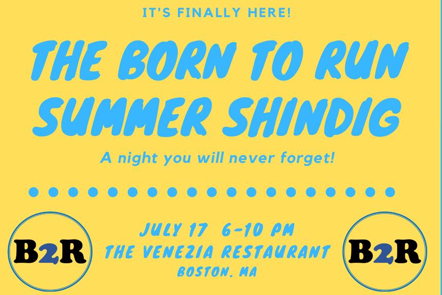 The Born To Run Foundation Summer Shindig